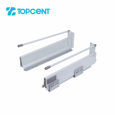 Steel drawer slide clip on SL.7882