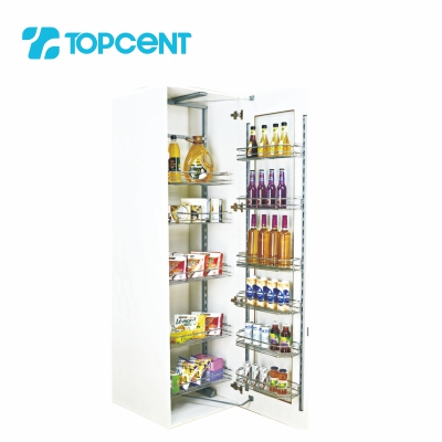 Pull-out tandem pantry BK.7060