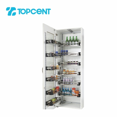 Pull-out tandem pantry BK.7145