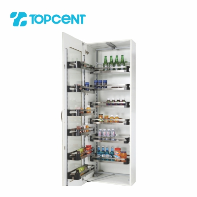 Pull-out tandem pantry BK.7160