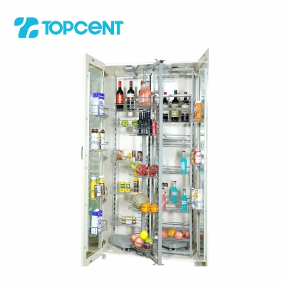 Pull-out tandem pantry BK.7090