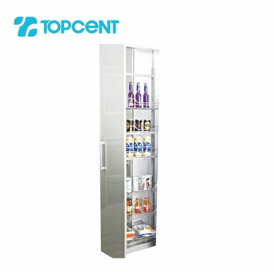 Pull-out tandem pantry BK.7040
