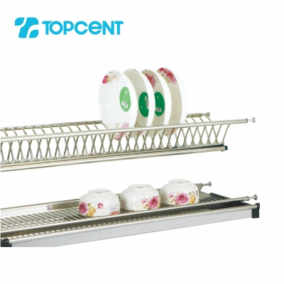 Stainless steel draining dish rack BK.8010