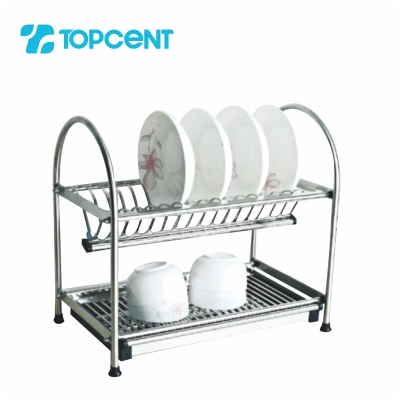 Stainless steel draining dish rack BK.8020