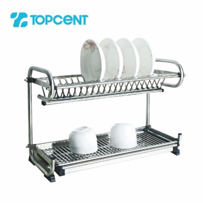 Stainless steel draining dish rack BK.8030